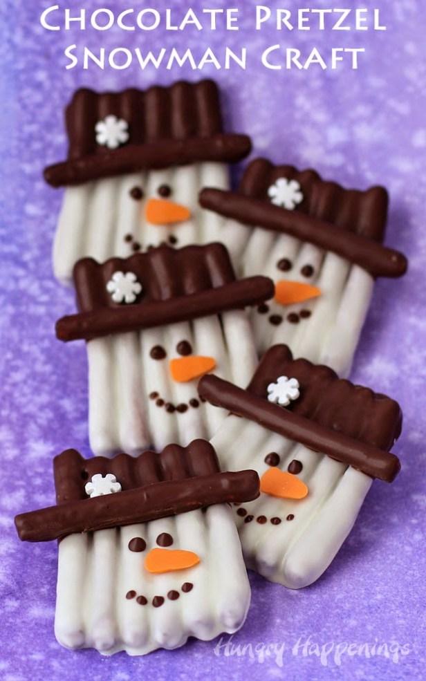 Snowman Treats for Christmas