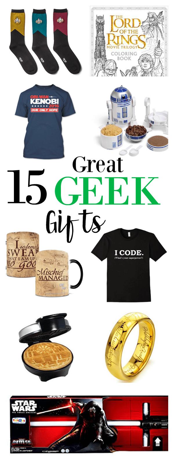 15 Great Geek Gift Ideas