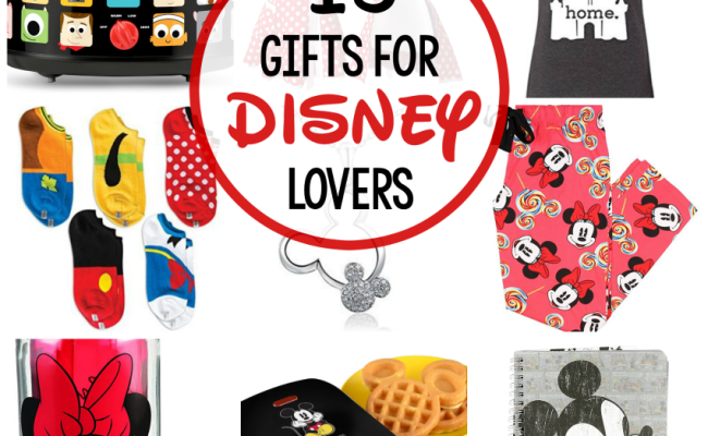 15 Great Gifts For Disney Lovers Fun Squared
