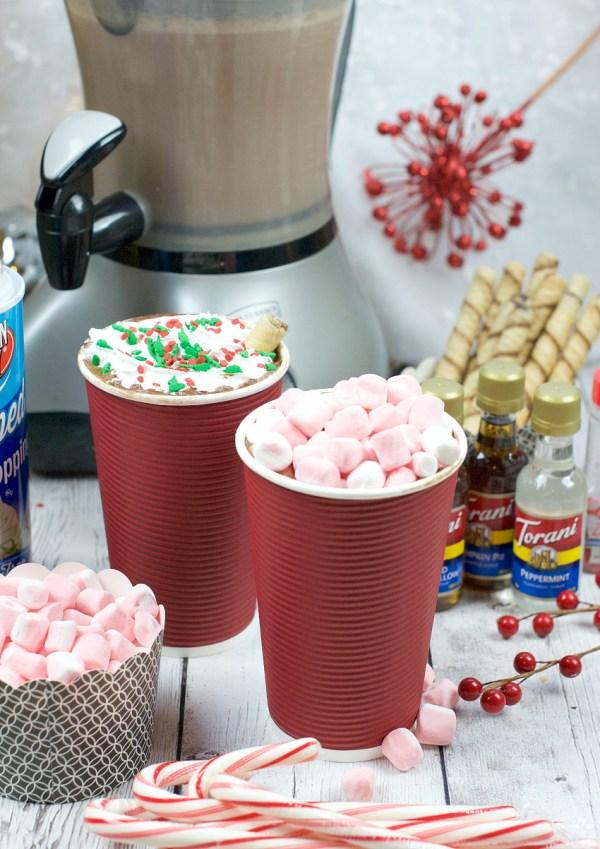 Hot Chocolate Bar-Christmas School Class Party Ideas