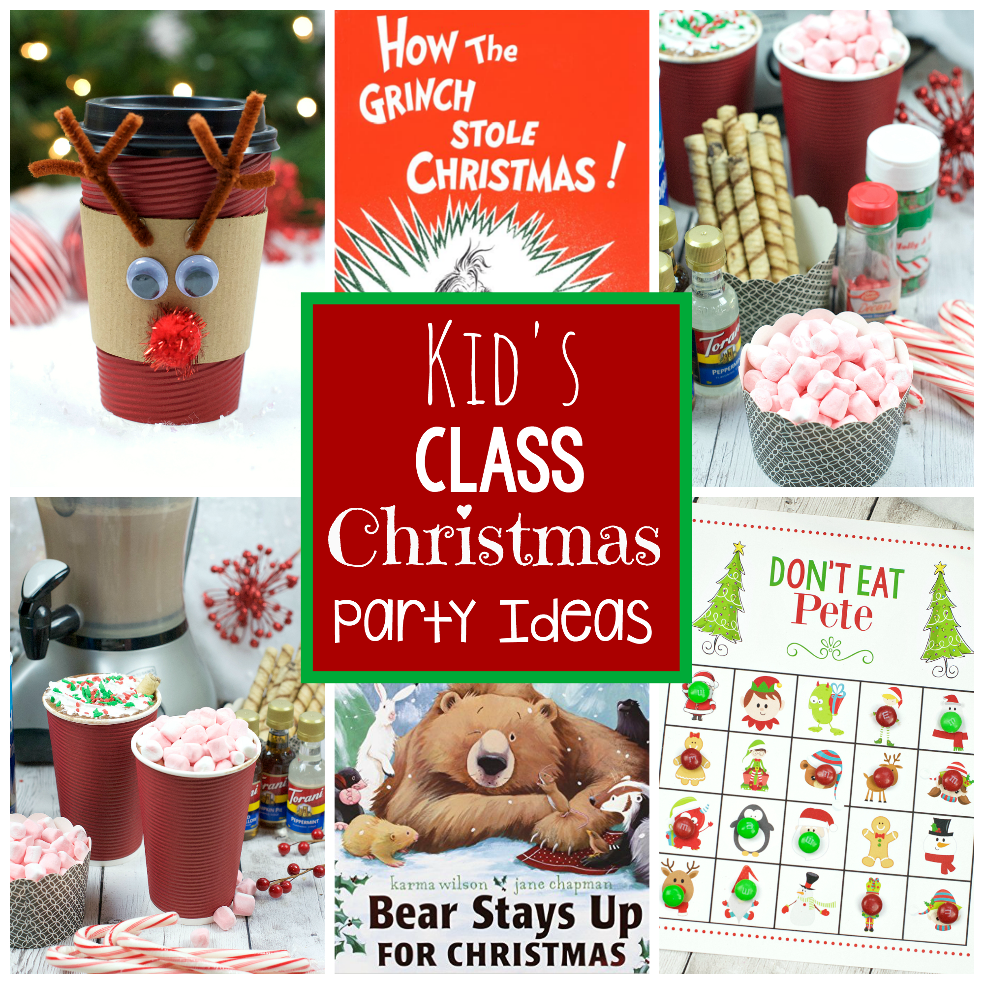 kid s school christmas party ideas fun squared kid s school christmas party ideas