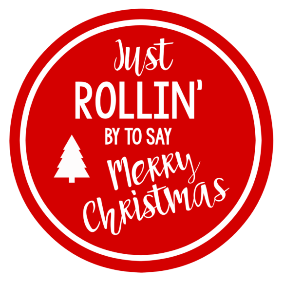 Punny Christmas Gift Tag