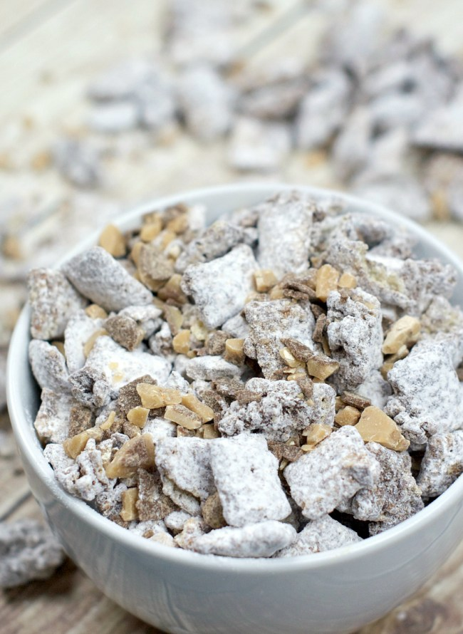 Caramel Toffee Chex Mix Recipe