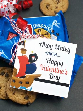 Chips Ahoy School Valentine Ideas