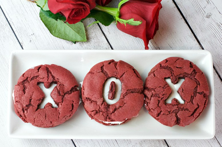 Red Velvet Valentine's Cookie Recipe