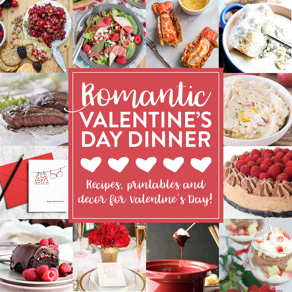12 Ideas For A Romantic Valentines Dinner Fun Squared