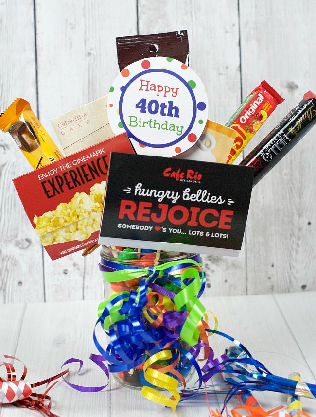 40th Birthday Gift Idea 40 Bouquet