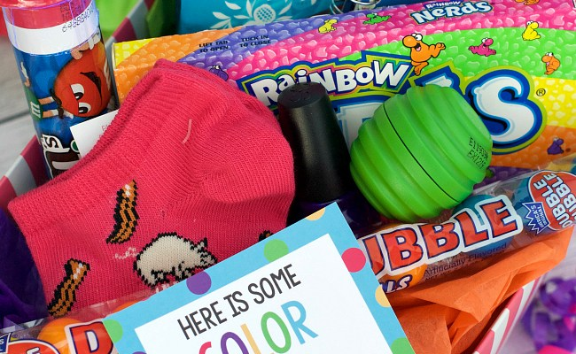 Bright Colorful Cheer Up Gift Idea Fun Squared