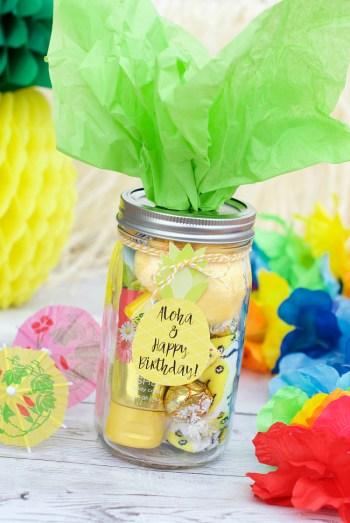 Hawaiian Birthday Gift Idea