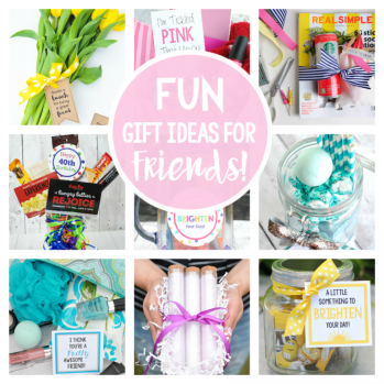 Fun Friend Gift Ideas
