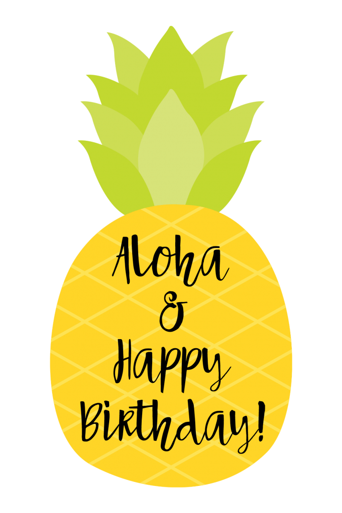 Cute Wallpapers Of Pineapples Cute Pineapple Themed Birthday Gift Idea Fun Squared