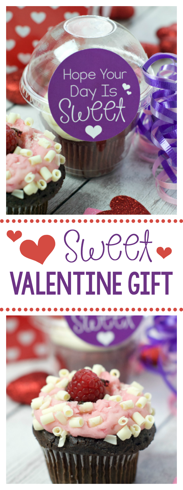 Sweet Valentine Gift for a Friend-Add this sweet tag to a sweet gift and take it to a friend or give it to your kids for Valentine's Day! #valentinesday