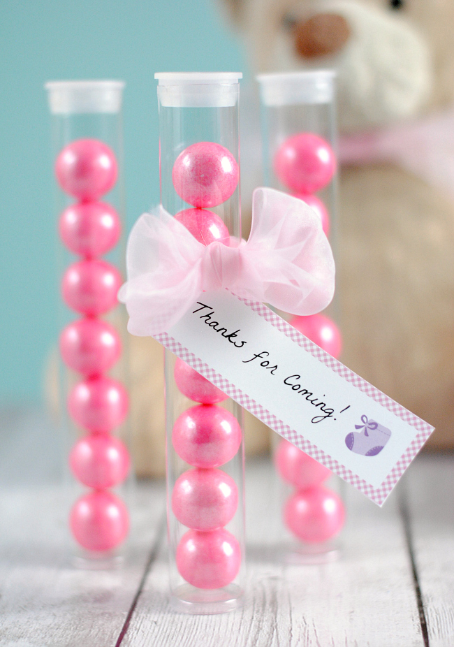 Cute and Easy Baby Shower Favors