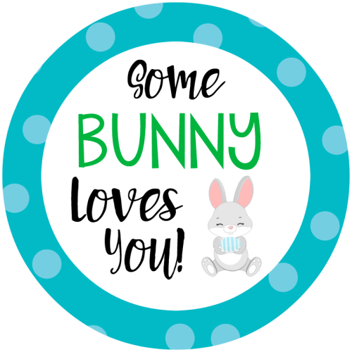 Cute Easter Gift Tags
