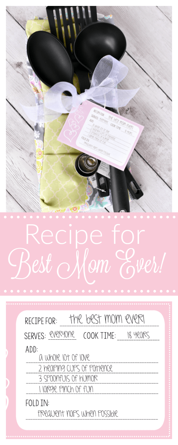 Mothers Day Gift Idea Recipe For The Best Mom Fun Squared
