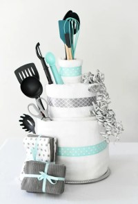 Bridal Shower Gift Idea-Towel Cake  Fun-Squared