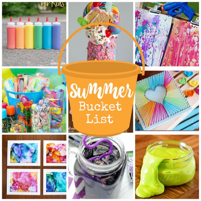 Summer Bucket List IdeasFun Summer Activities for Kids