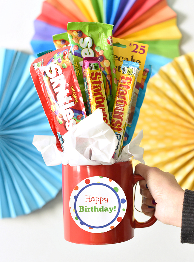 Birthday Candy Bar Bouquet
