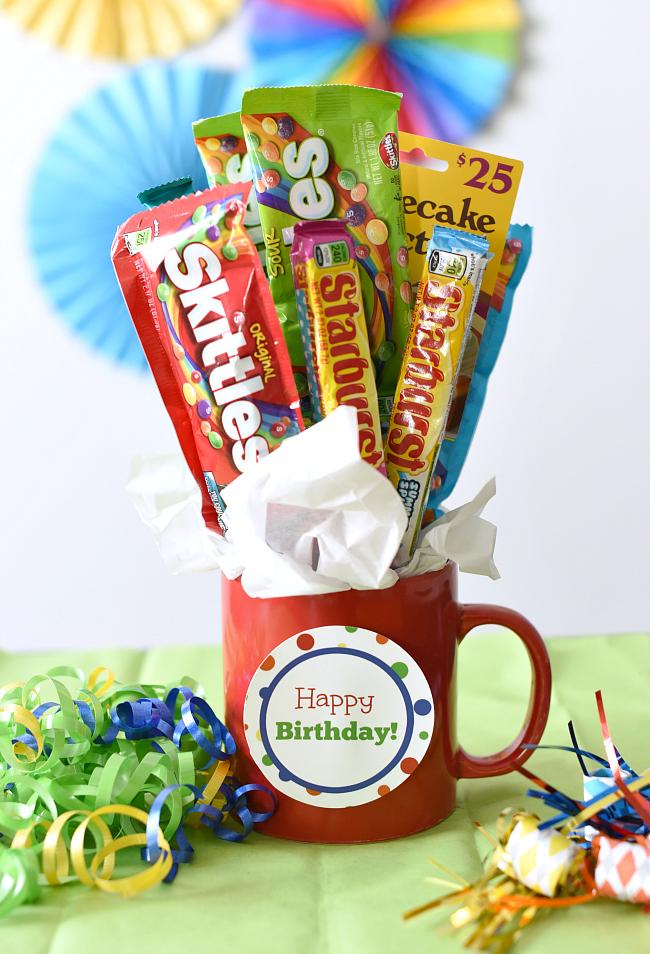 Candy Bar Bouquet for Birthdays