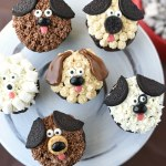 Puppy Cupcakes for Kids Birthdays