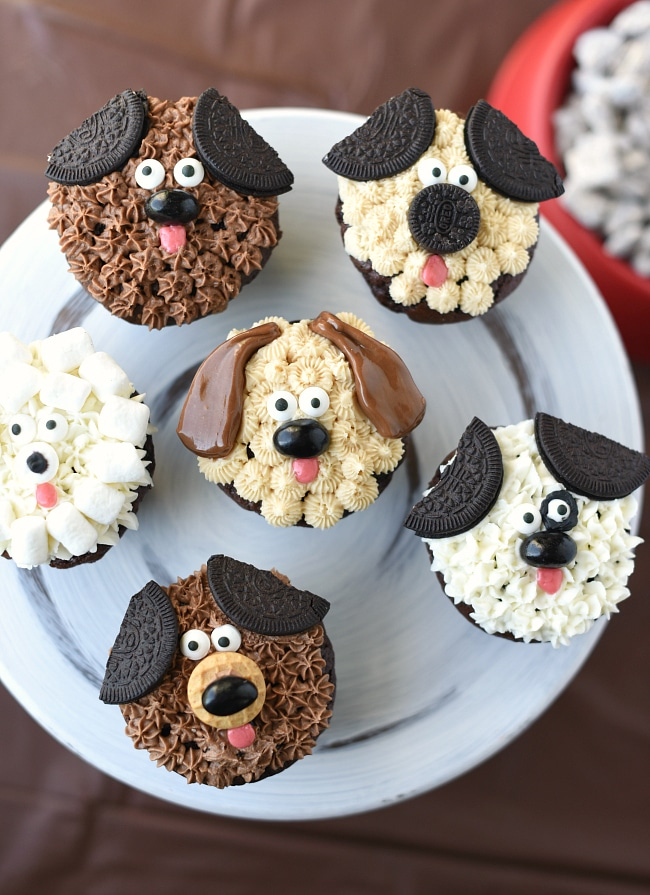 Cute Puppy Cupcakes For Kid S Birthdays Fun Squared