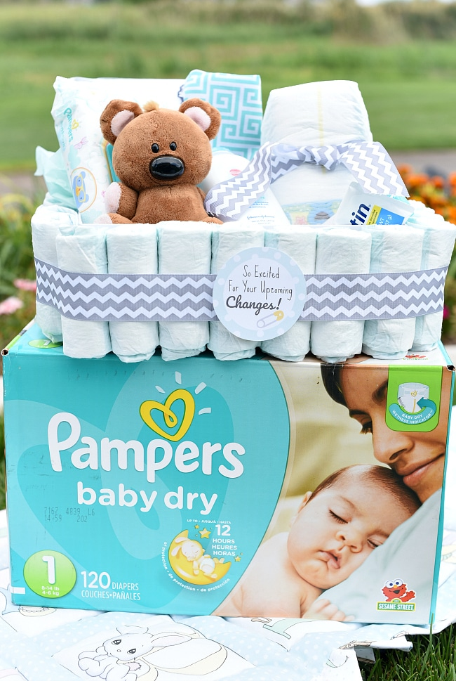 Fun And Creative New Baby Gift Baskets Fun Squared