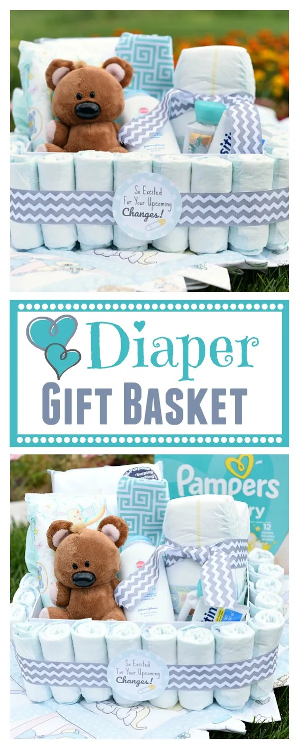 Fun and creative new baby gift baskets!