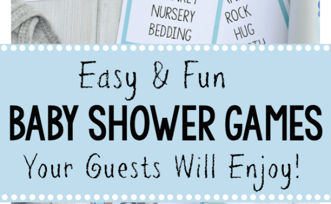 Free Printable Baby Shower Games For Large Groups Fun