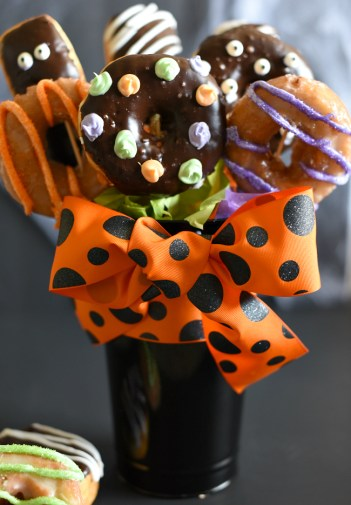 Halloween Donut Bouquet