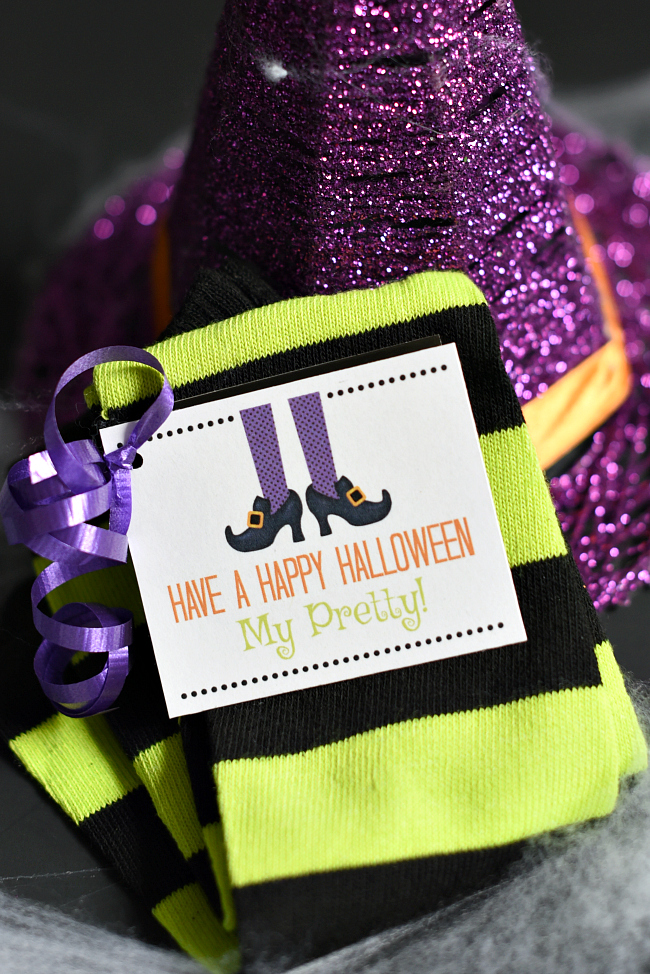 Witch Socks Halloween Gift for Friends
