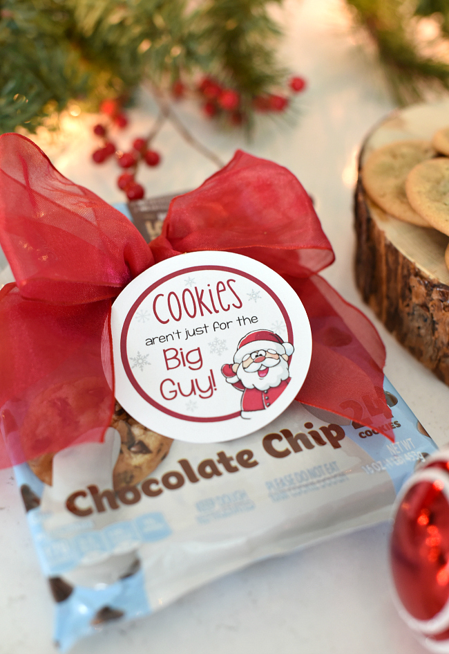 Cookie Dough Gifts for Neighbors for Christmas
