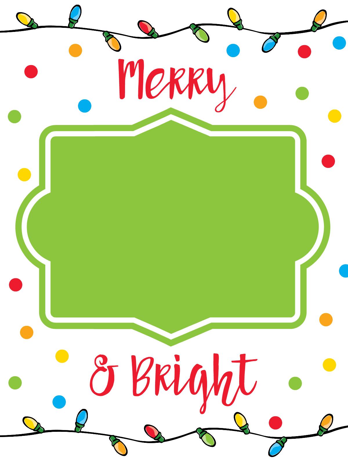 Printable Christmas Gift Card Holders - Fun-Squared