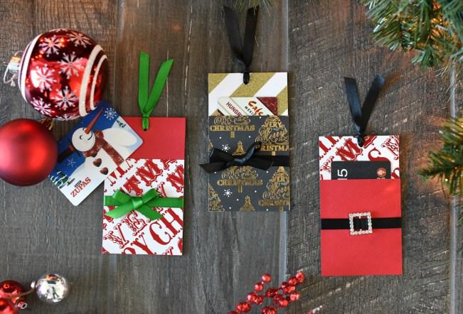 Diy Christmas Gift Card Holder Fun Squared