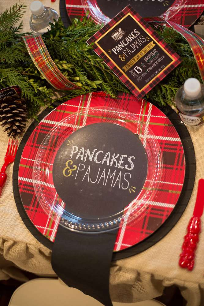 Pajamas and Pancakes Christmas Party
