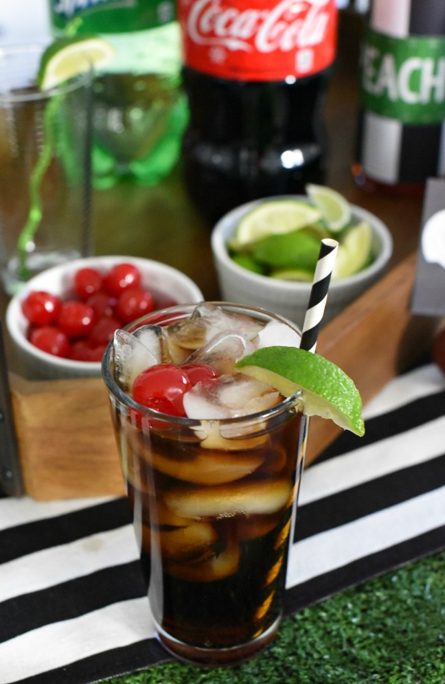 Football Party Drink Ideas