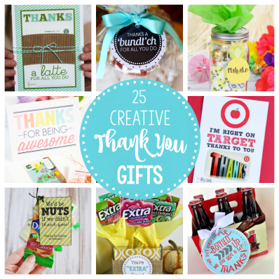 Creative Thank you Gifts