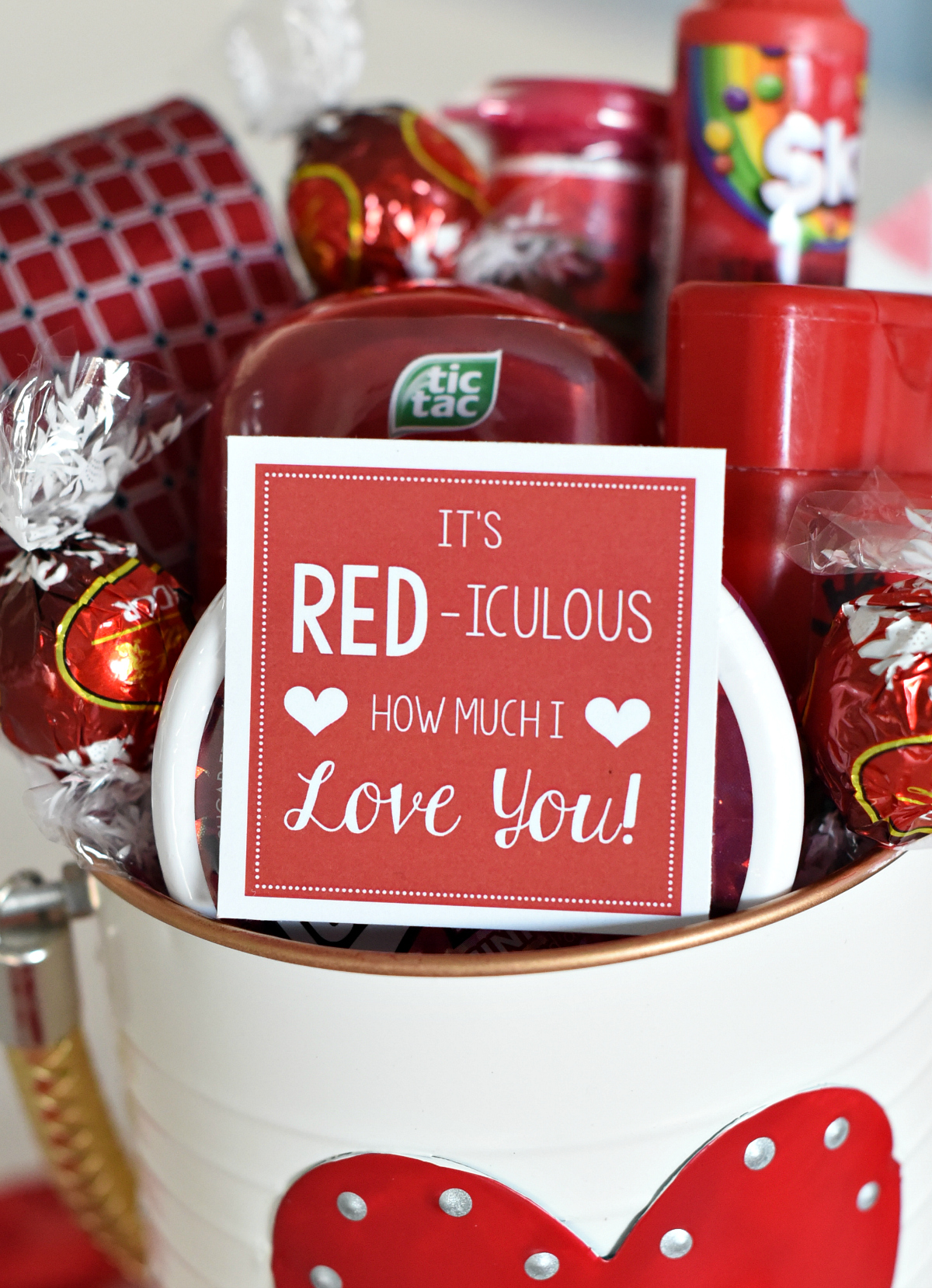 Cute Valentine's Gift Tags for Valentine Gift