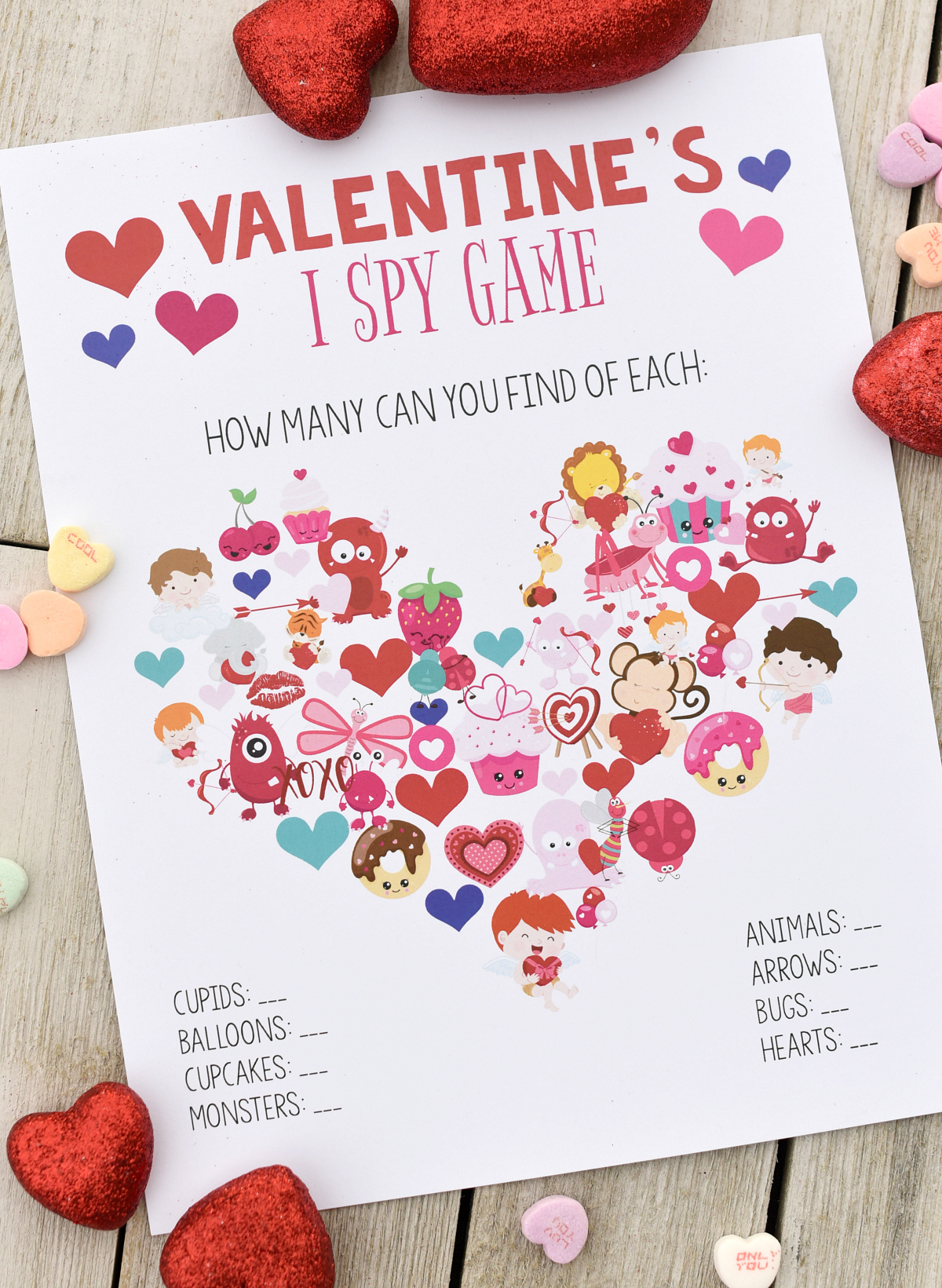 photograph about Free Printable Valentine Games for Adults identified as Enjoyable Valentine Online games in direction of Print Engage in Pleasurable-Squared