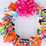 Candy Wreath for Birthdays