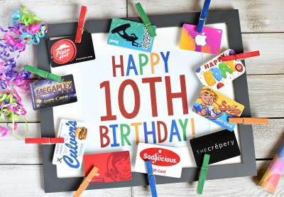 Fun Birthday Gifts for 10 Year Old Boy or Girl