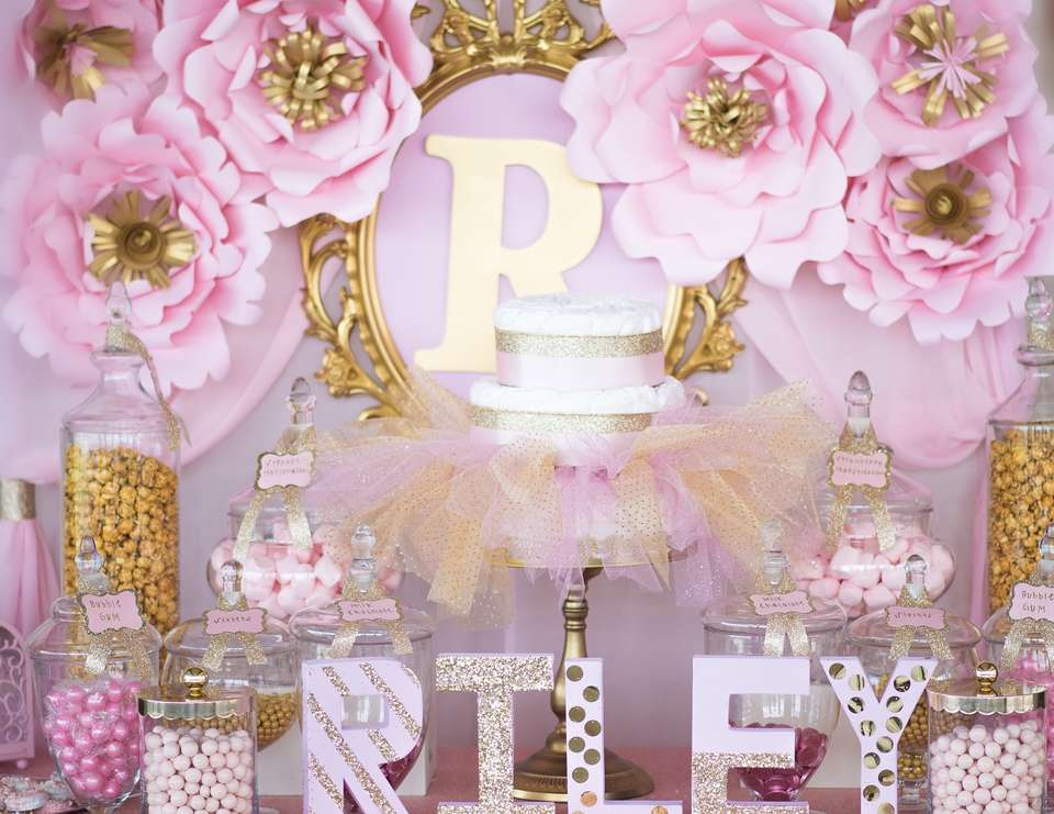 Princess Themed Baby Shower for Girls