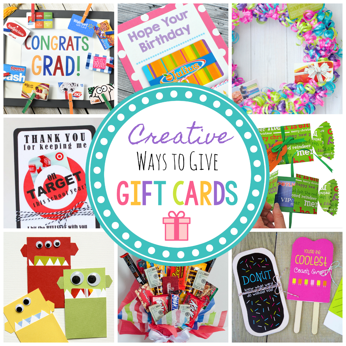 Fun & Creative Ways to Give Gift Cards
