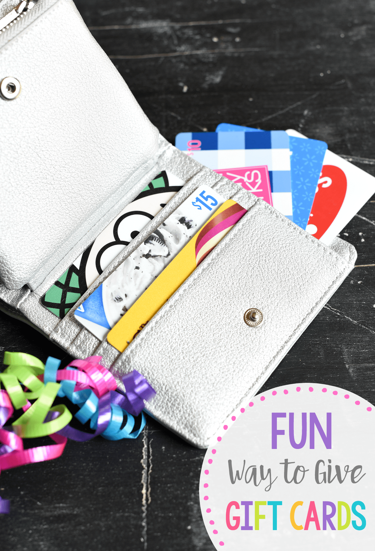 Gift Card Holder Ideas Gift Card Wallet Fun Squared
