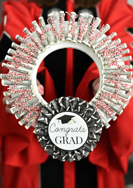 Graduation Money wreath