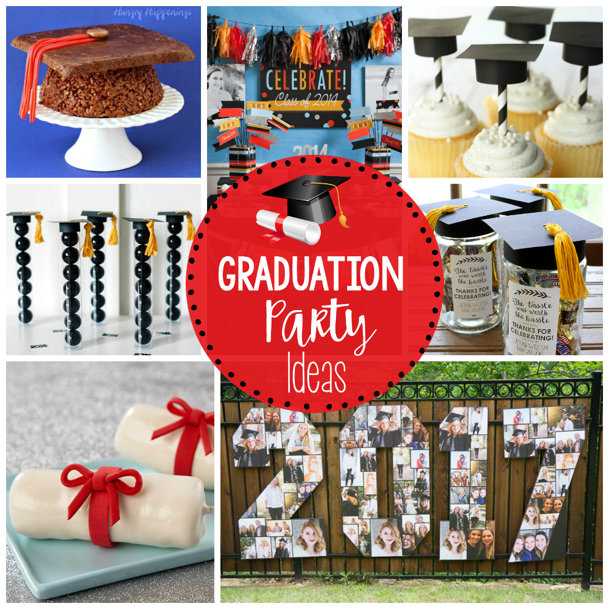25 Fun Graduation Party Ideas - Fun-Squared