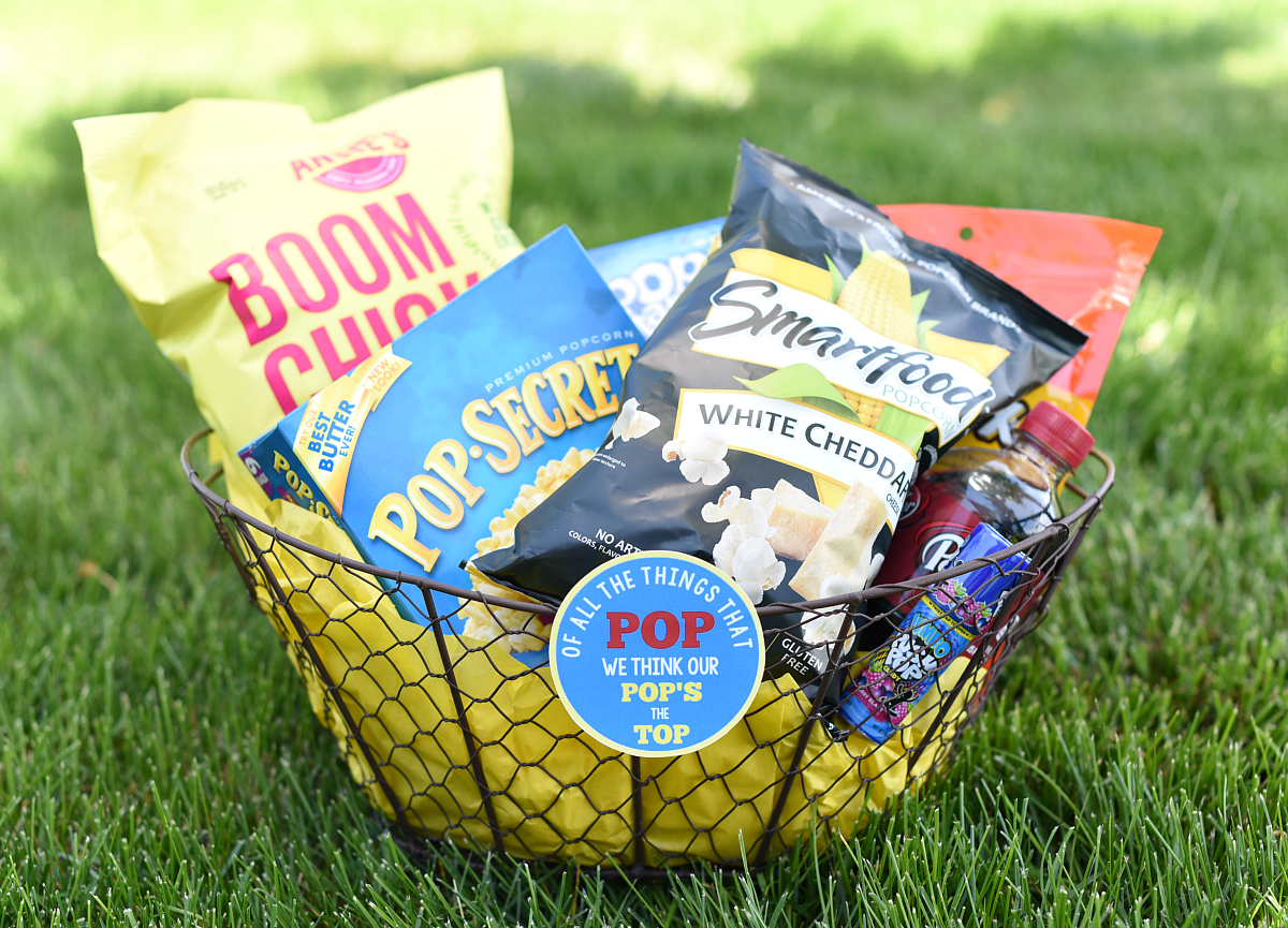 DIY Father's Day Basket Ideas