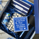Blue Themed Sympathy Gift