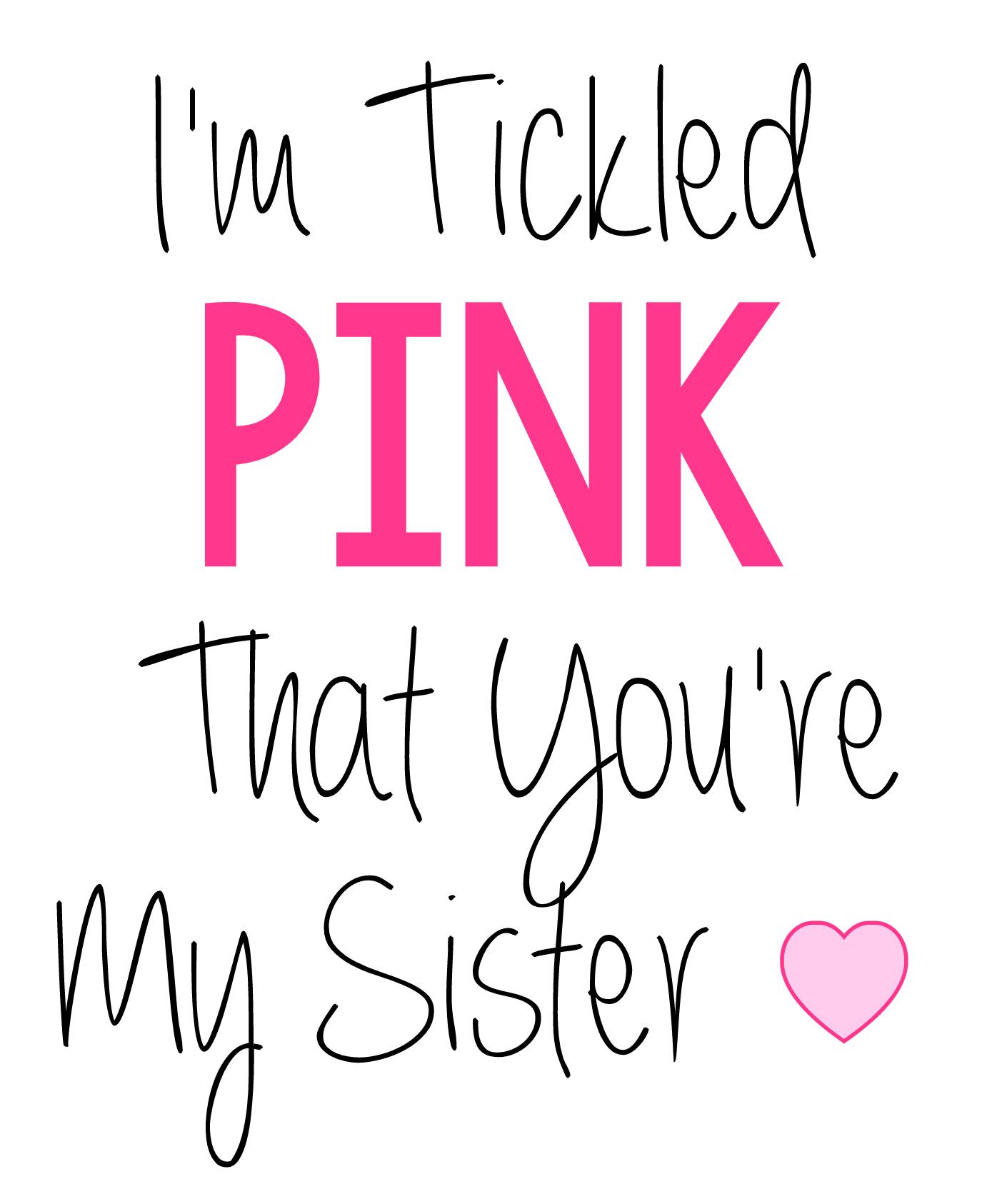 Sister Gift Tag