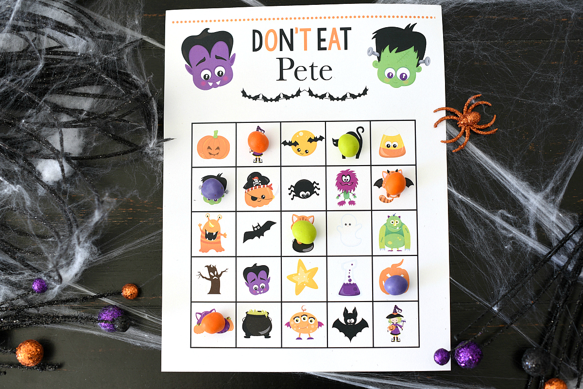Don't Eat Pete Halloween Game