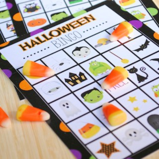 Halloween Bingo Game-Free Printable Halloween Bingo Boards to Print and Play